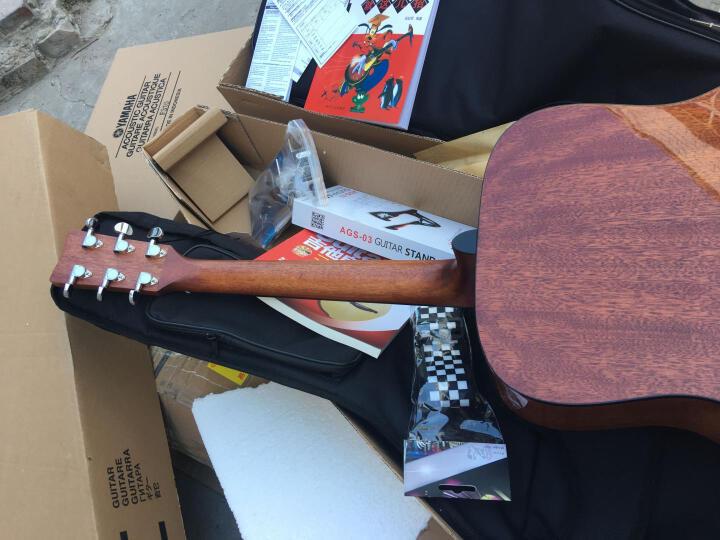 雅马哈(YAMAHA) 弹唱民谣木吉他  初学者入门吉它F310/F600升级41英寸原声jita F310经典款 印尼进口 晒单图