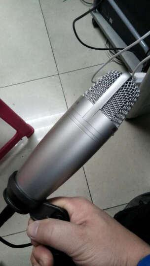 【笛美总代】samson C01U pro录音话筒USB大震膜电容麦 安卓手机唱吧K歌专用 晒单图