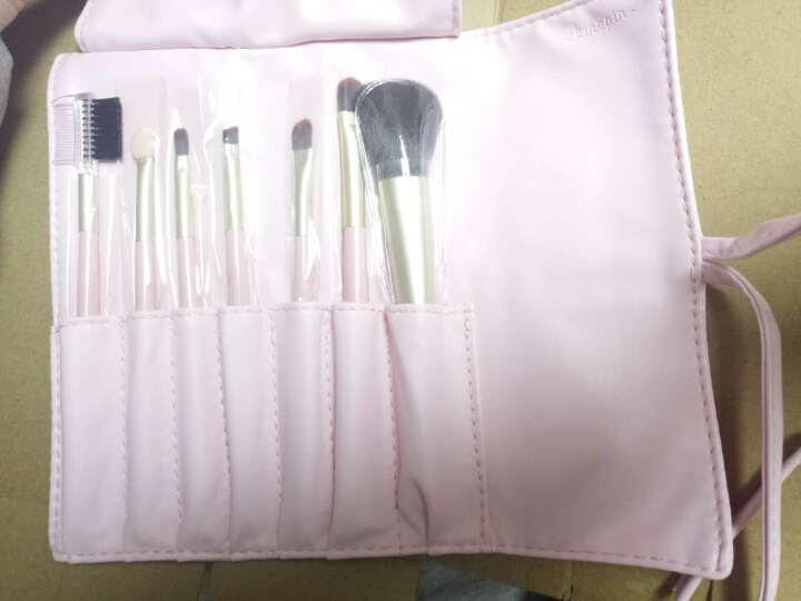 今之逸品(KINEPIN) 化妆刷 化妆刷套装 初学者散粉刷蜜粉刷眼影刷7件套 粉色7件套 晒单图