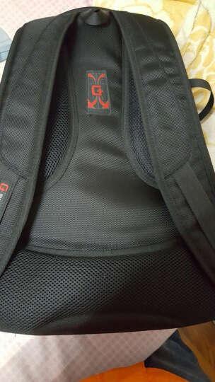 SWISSGEAR双肩包 防震防刮笔记本电脑背包15.6英寸 男商务双肩电脑包书包 SA-9854黑色 晒单图
