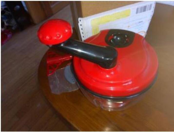 古达 手动绞肉机多功能切菜器家用厨房碎肉机碎菜器 脱水器 晒单图