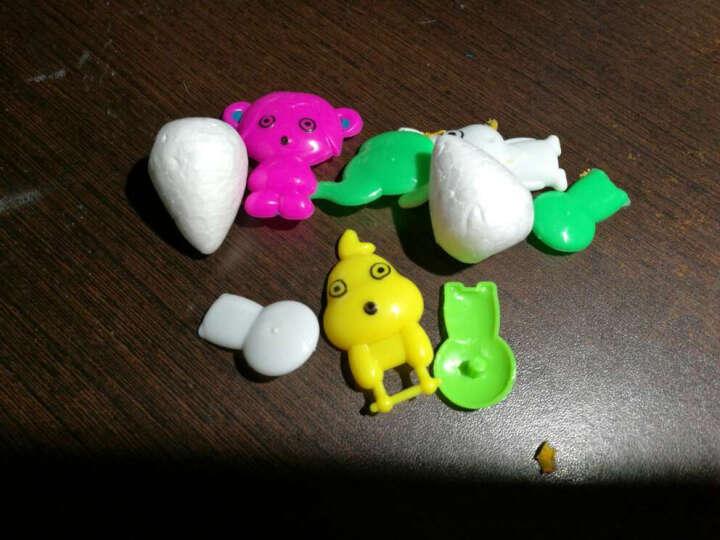 大贸商(DMSbuy)超轻3D彩泥粘土橡皮泥儿童DIY手工制作 36色收纳桶装 送粘土配件 晒单图