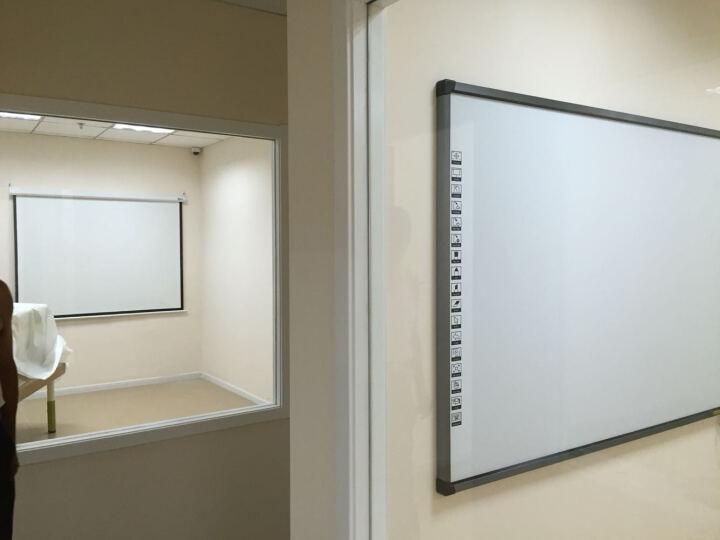 风光(FG)电子白板 交互式红外多媒体教学培训会议电子白板 智能触摸触控 白板T101+奥图码GT1080 搭配(短焦投影专用吊架) 晒单图