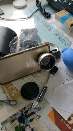 小天手机镜头超广角微距拍照神器套装通用单反外置摄像头安卓苹果通用 专业版【玫瑰金】三合一 晒单图