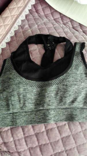 凯萱丝 瑜伽服女套装夏健身服三件套跑步速干衣背心含胸垫运动套装 三件套(10) M 晒单图