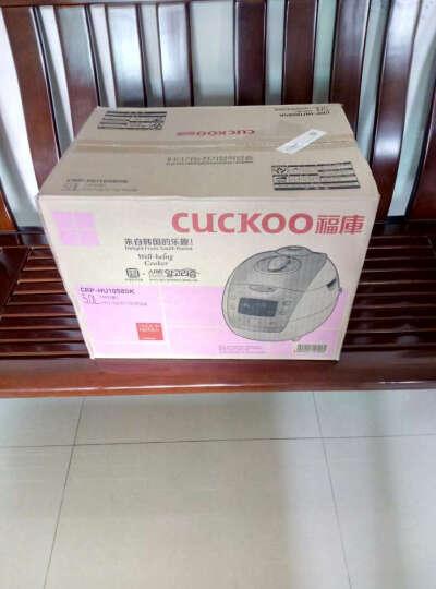 福库(CUCKOO)电饭煲 原装进口IH电磁加热高压电饭锅 CRP-HU1058SK 5L 晒单图