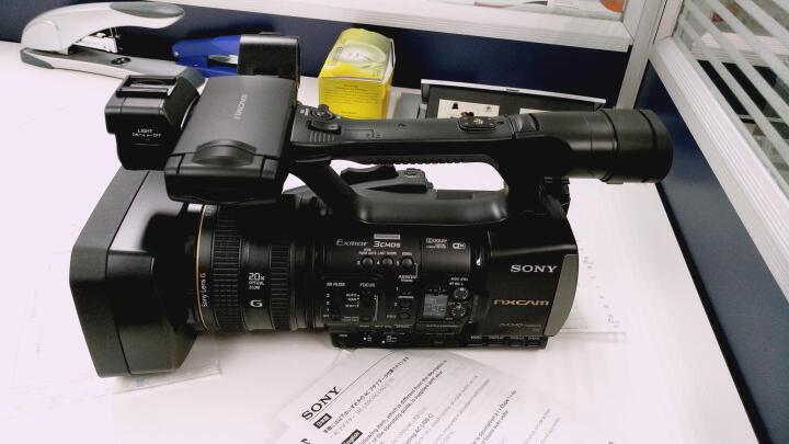索尼(SONY)专业摄像机HXR-NX3手持式存储卡高清摄录一体机 解决方案-会议活动录制 晒单图