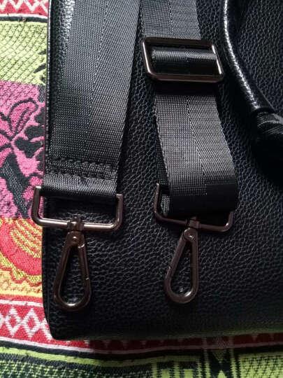 包包带子男包肩带背带配件单肩包斜挎包背包带子电脑包带 深灰色宽3.8cm+金色钩扣 晒单图