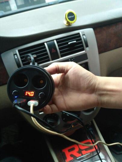 路思拓(NOSTOP)车载充电器一拖二 QC3.0车充 车用手机点烟器拓展12V快充 点烟口分流器一拖四 晒单图