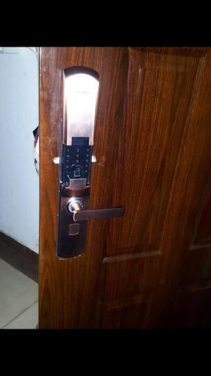 指纹锁家用智能APP开门电子锁 密码锁防盗门锁AI-9 双门假锁(颜色备注) 晒单图