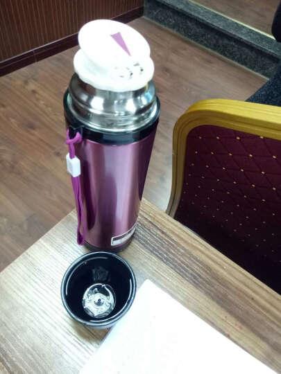 品家家品【PINKAH】 子弹头儿童保温杯男女士双层304不锈钢水杯户外运动旅行真空保冷杯子 (500ml)香槟红 晒单图