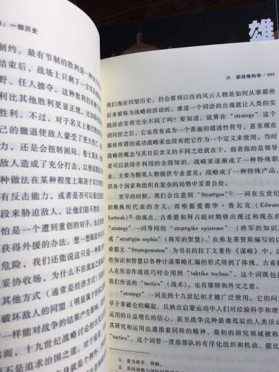 甲骨文丛书·战略:一部历史(套装共2册)  晒单图