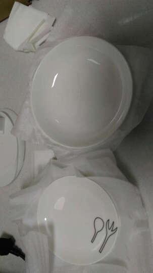 国玥 陶瓷盘子套装骨瓷西餐盘创意西式小牛排盘骨碟物语 8英寸4个盘套装 晒单图