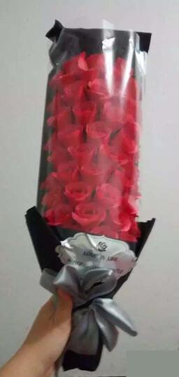 I'M HUAHUA生日礼物女生情人节礼物送女朋友老婆创意礼品保鲜花香皂玫瑰礼盒 礼物-51朵香皂红玫瑰花束礼盒 晒单图