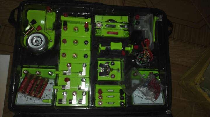 初中物理科学电学实验盒 电磁学实验箱器材书包实验室物理初三套装 晒单图