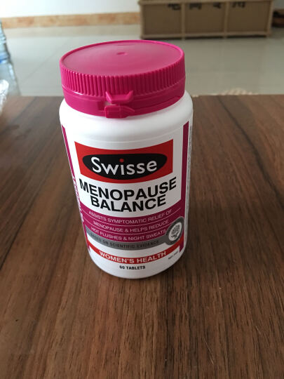 swisse 大豆异黄酮 更年期平衡营养素 延缓衰老 改善睡眠 60粒 晒单图