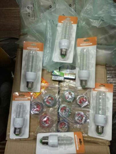 莱维(lionway) LED吸顶灯改造灯板三基色节能灯H管灯改装板U灯管灯板 18W/暖光 晒单图