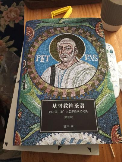 """基督教神圣谱:西方冠""""圣""""人名多语同义词典 晒单图"""