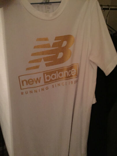 New Balance NB男装短袖T恤上衣AMT71506AG AMT61091TXH L 晒单图