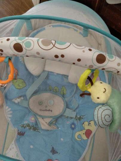 迪奥贝莱(Diorbaby) Diorbaby多功能婴儿电动摇椅 摇篮床宝宝安抚椅 躺椅 标准版优雅粉+电源 晒单图