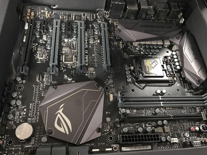 玩家国度(ROG)MAXIMUS IX APEX 主板 M9A(Intel Z270/LGA 1151) 晒单图