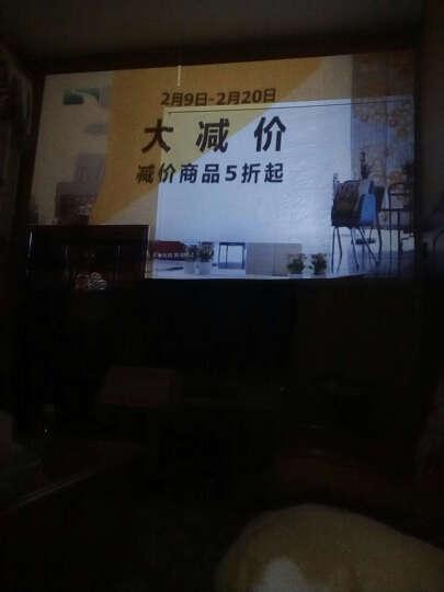 才为(caiwei) A6 投影仪家用 wifi3D智能无线无屏电视 高清手机投影机 黑色 wifi版 晒单图