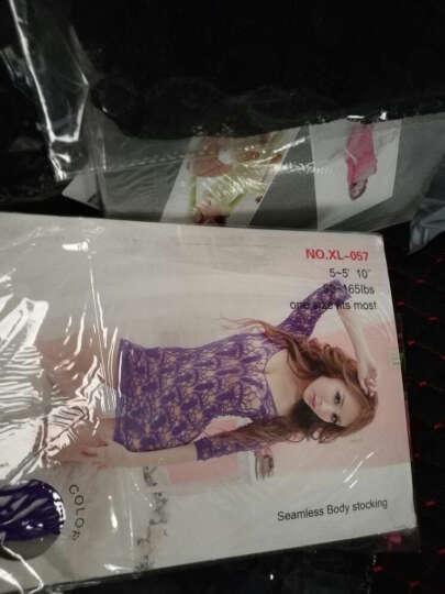 嫩房 性感情趣内衣性感诱惑套装可配开档内裤丝袜 成人用品 薄纱透明短裙蓝色-32 晒单图