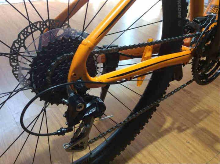 NORCO 诺客山地公路车禧玛诺27变速铝合金进口男女自行车山地 风暴STORM7.1SE 黑蓝色48厘米(160cm-178cm) XS(155-168) 晒单图
