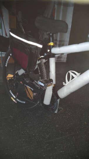 永久(FOREVER) 永久自行车30速 26寸铝合金车架 30速升级版-黑金色 晒单图