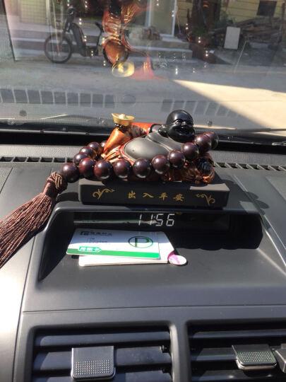 讴致 活性炭汽车摆件 汽车碳雕弥勒佛车饰 车内摆件车内饰品 创意车内装饰 车上装饰用品 活性炭佛 晒单图