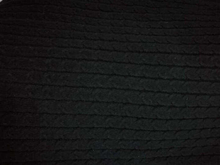 乐往亲子装126课【谁看花】棉混纺高领套头母女亲子绞花毛衣原创设计师女装 妈妈XL码 晒单图