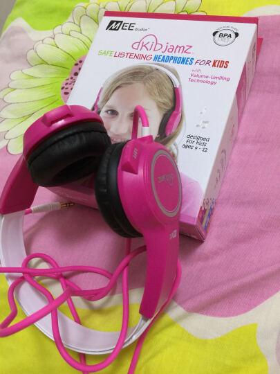 MEELECTRONICS KJ25 儿童耳机头戴式 立体声音乐耳机听力保护儿童礼品 蓝色 晒单图