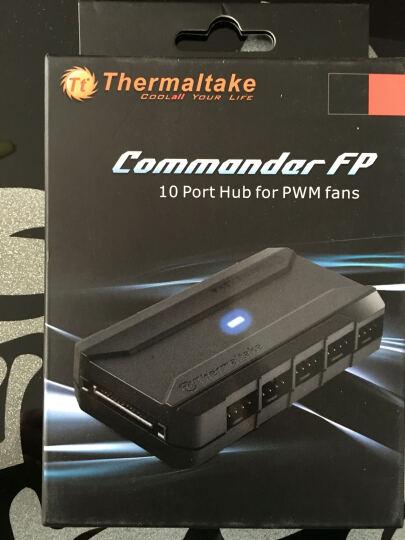 Tt(Thermaltake) Commander FP 风扇集线器( 风扇HUB/PWM/支持10个4pin风扇/sata供电) 晒单图