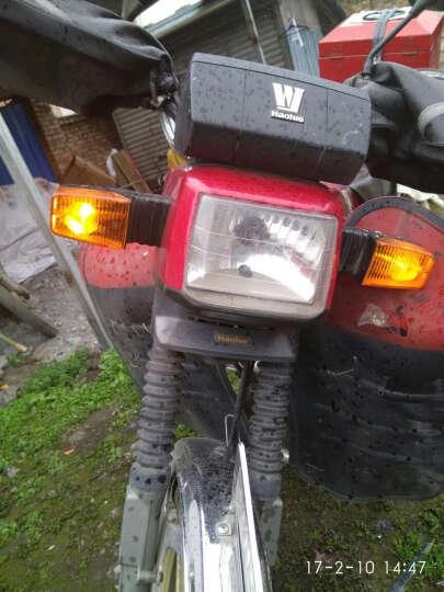 WUPP摩托车双闪开关 山地车龙头大灯开关熄火开关手把开关电动车大灯改装 圆型喇叭开关 晒单图