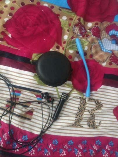 锋尼专用K歌耳机入耳式带手机麦克风 唱吧直播全民k歌神器耳机带小话筒 黑色 晒单图