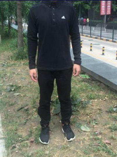 Adidas阿迪达斯短袖T恤男2018新品POLO衫 速干高尔夫服装 条纹CD3359 3XL 晒单图