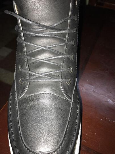 班尼咔咔 马丁靴男靴子男士短靴冬季保暖棉鞋高帮男雪地靴 205-1黄色【加绒】 41标准码 晒单图
