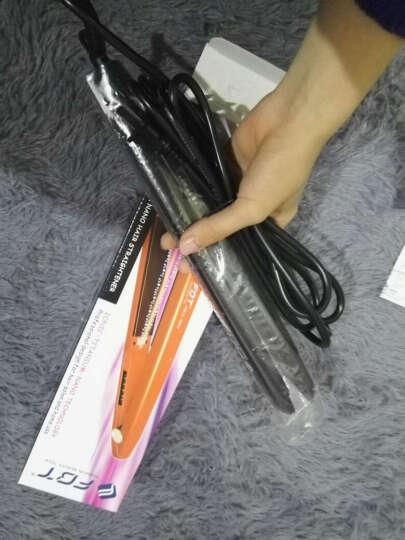 FBT 负离子 陶瓷 直卷两用 直发器 卷发器 直发夹板 刘海内扣不伤发梨花造型美发工具 包邮 黑色 晒单图