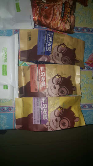 三只松鼠_小贱拉面丸子85gx3袋休闲零食膨化小吃干脆面串烧味 晒单图
