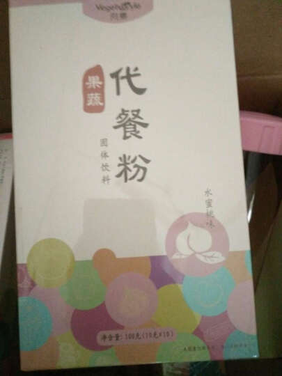向素 果蔬代餐粉 魔芋代餐粉五谷果蔬代餐纤维营养粉100g/盒 菠萝味 晒单图
