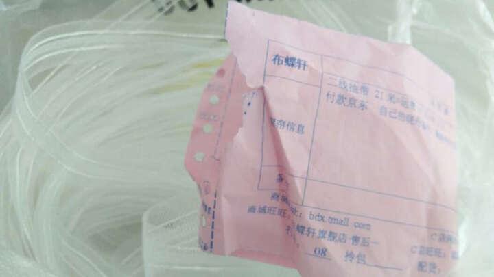 布蝶轩 全新升级涤棉挂钩布带 厚实耐用质量非常好 1.5元每米 1米二线抽带(不含加工费) 晒单图