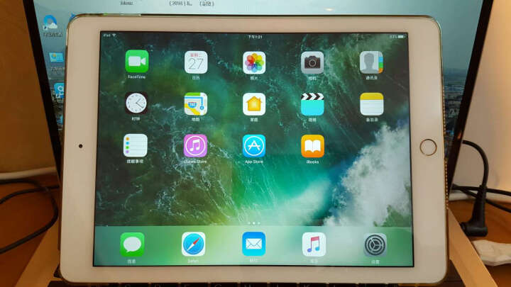 Apple iPad Air 2 平板电脑 9.7英寸(32G WLAN+Cellular版/A8X芯片/Retina显示屏 MNVP2CH)深空灰色 晒单图