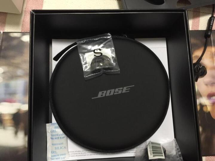 Bose耳机 QuietControl QC30降噪耳机 入耳式无线蓝牙线控耳塞手机耳机 黑色 晒单图