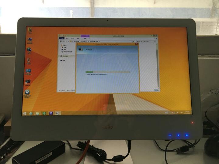 杰灵(zillion) 一体机电脑 19.5-21.5英寸英特尔酷睿 4G内存 19.5/触摸屏//酷睿I3/120G固态 晒单图