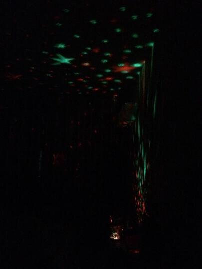 绿盒子 旋转星空灯 led星空投影灯 梦幻星星灯 创意新奇特小夜灯 送小孩子男生女生圣诞礼物 海洋达人 晒单图