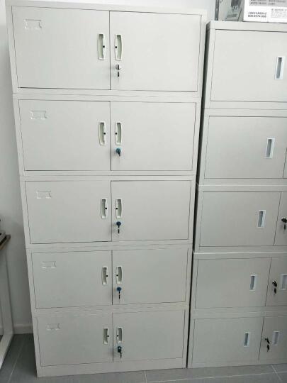 森拓文件柜铁皮柜办公柜财务专用凭证柜资料柜五层档案柜加层板办公家具钢制储物柜 加隔板档案柜一套 晒单图