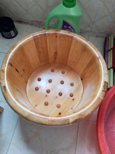 木太祖木桶 1.4米贵妃豪配款实木泡澡桶木桶浴桶成人浴澡盆香柏木洗澡桶木桶浴缸泡澡桶家用 晒单图