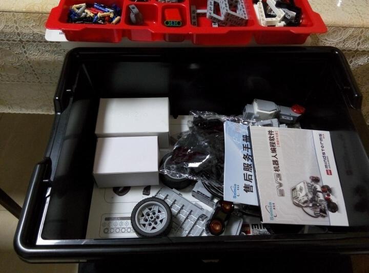 乐高(LEGO) 头脑风暴/EV3 45300 wedo 2.0 编程机器人 晒单图