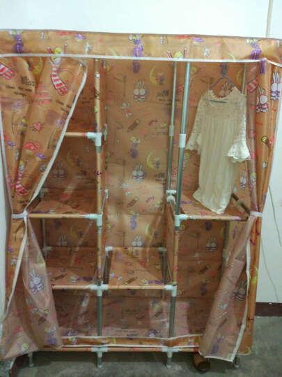 小媳妇大号布衣柜 钢管加粗加固25mm简易衣柜