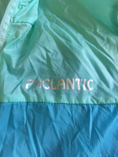 派克兰帝(PacLantic)男女童夹克 男童女童户外超轻皮肤衣 JJCJ15303 冰激凌绿/晴天蓝 140 晒单图